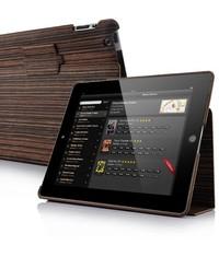 Эко деревянный чехол для iPad 2, 3, 4 Кофейный