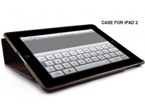 Эко стильный деревянный чехол для iPad 2 3 4 Кофейный