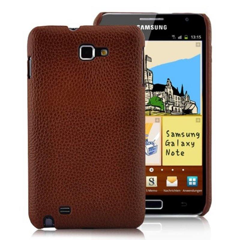 Задняя крышка для Galaxy Note Коричневая