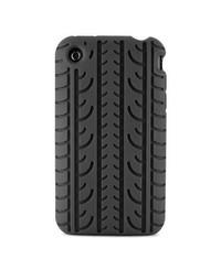 Силиконовый чехол шина для iPhone 3G, iPhone 3GS Черный