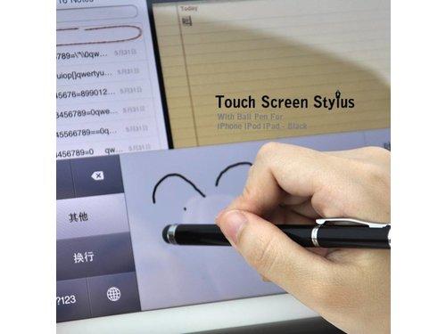 Экранный стилус с ручкой для сенсорных экранов iPhone Samsung