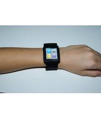 Черный чехол часы для iPod Nano 6G