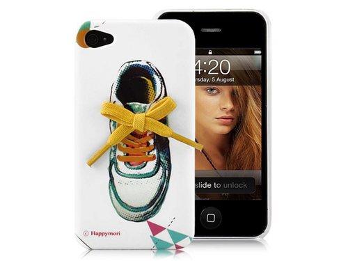 Дизайнерская крышка чехол Happymori для iPhone 4/4S