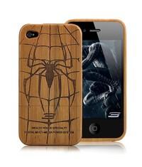 Деревянный чехол для iPhone 4/4s
