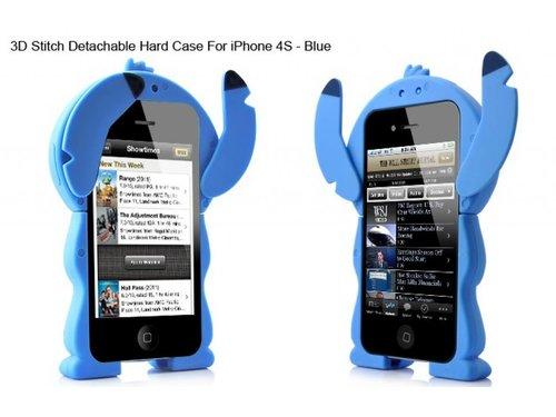 Съемный чехол задняя крышка Stitch Стич для iPhone 4/4S