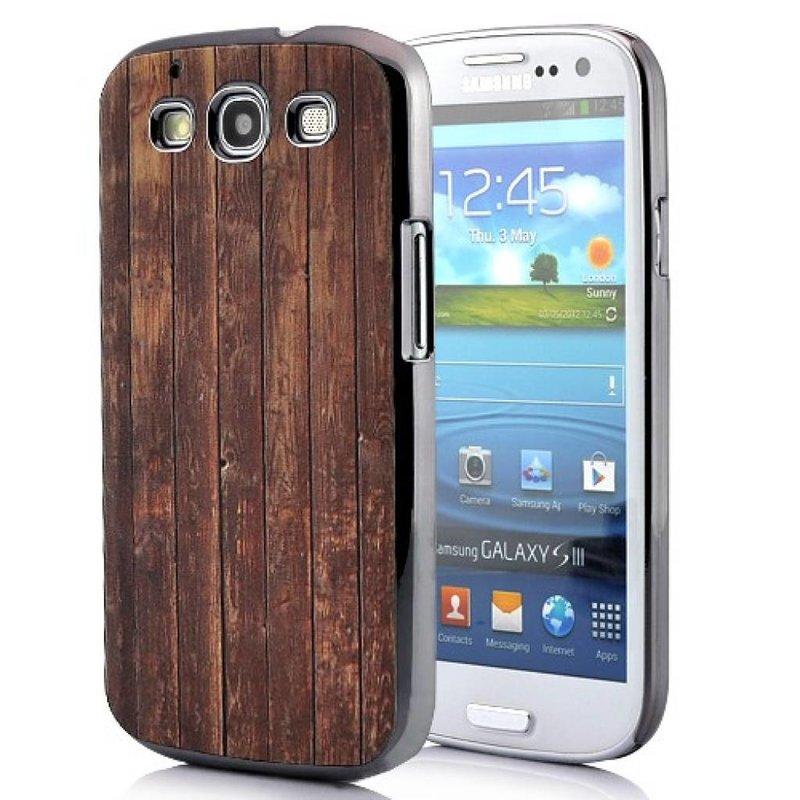 Задняя крышка Дерево для Galaxy S3