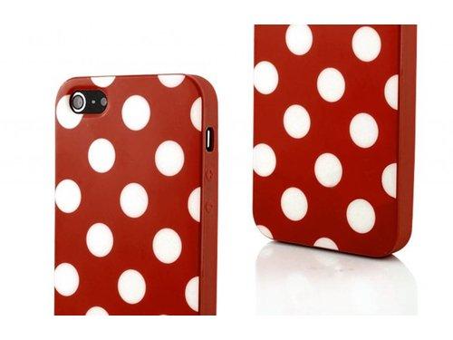 Чехол задняя крышка Ретро для iPhone 5 Красная