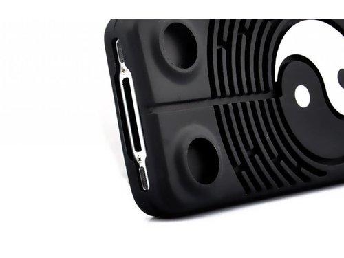 Силиконовый чехол Tai Chi тайцзи для iPhone 4/4S