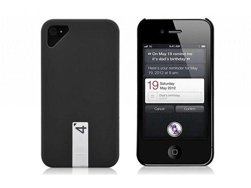 Крышка с Флеш картой для iPhone 4/4s Черная