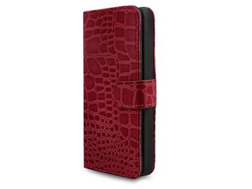 Качественный чехол кошелек под крокодила для iPhone 5