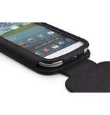 Кожаный чехол с крышкой для Samsung Galaxy S 3 i9300