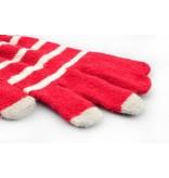 Сенсорные перчатки в полоску для iPhone, iPad, iPod, Samsung Galaxy