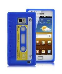 Чехол кассета для Samsung Galaxy S2 Синий