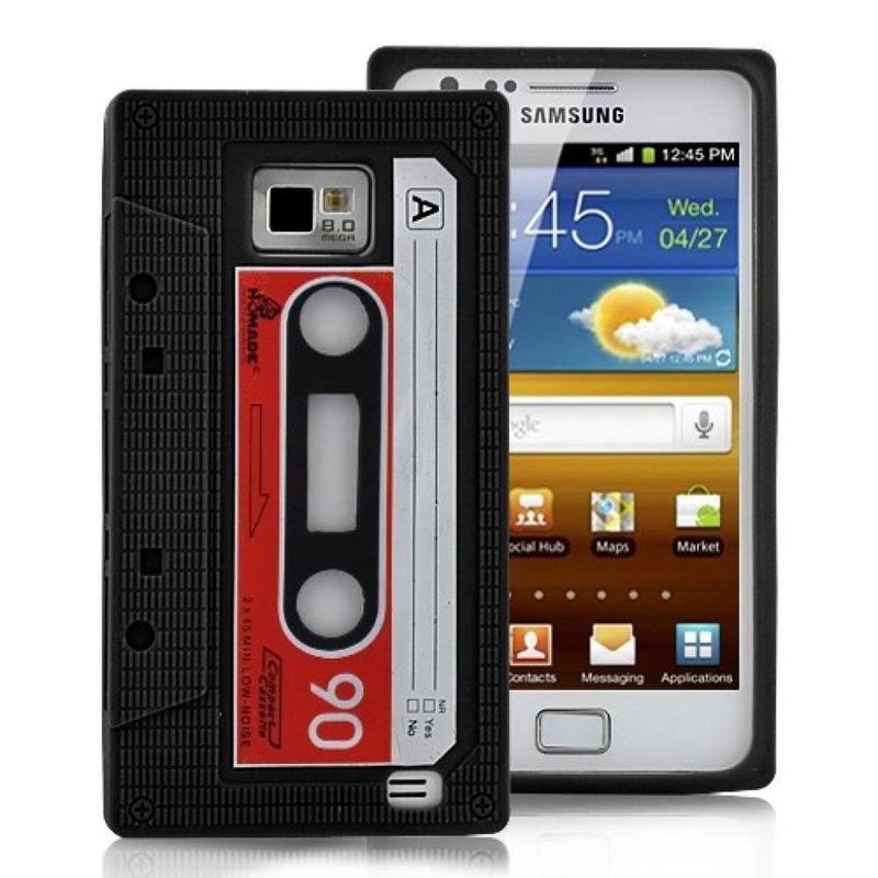 Чехол кассета для Samsung Galaxy S2 Черный