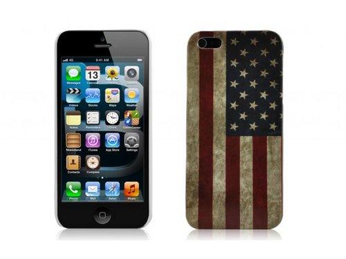 Накладка ретро флаг Америки для iPhone 5/5s