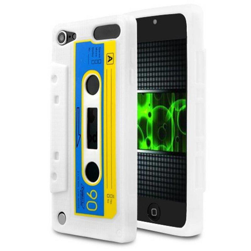 Чехол кассета 90-е для iPod Touch 5 Белый
