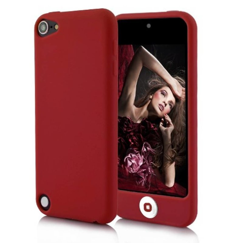 Силиконовый чехол для iPod Touch 5 Красный
