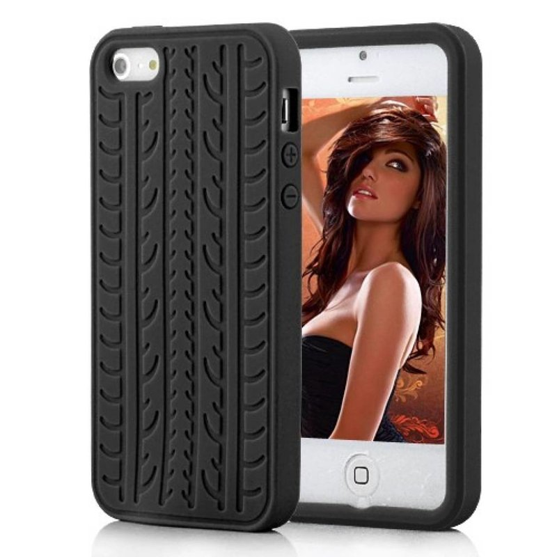 Чехол силиконовый шина для iPhone 5