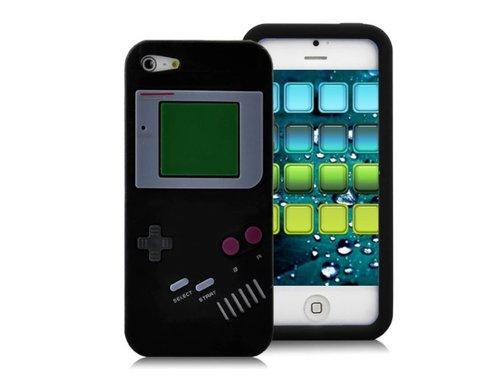 Чехол силиконовый Game Boy для iPhone 5/5s