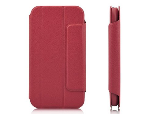 Кожаный чехол с подставкой для Samsung Galaxy S3 i9300 Красный