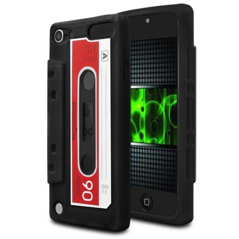 Чехол кассета 90-х для iPod Touch 5 Черный
