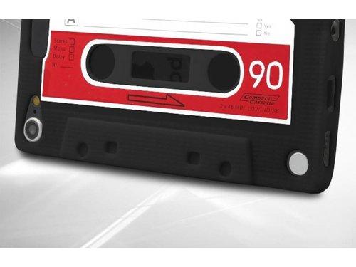 Силиконовый чехол кассета 90-х для iPod Touch 5 Черный