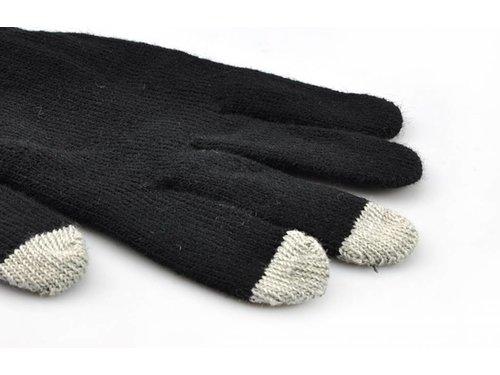 Черные сенсорные перчатки для iPhone, iPad, iPod, Samsung Galaxy