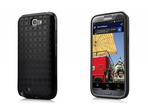 Задняя крышка ТПУ для Samsung Galaxy Note 2 Черная