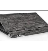 Стильный чехол эко с крышкой для iPad 2 3 4 Серый