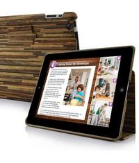 Эко деревянный чехол для iPad 2, 3, 4 Зеленый