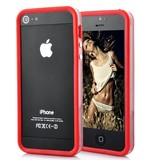 Бампер для iPhone 5 защитный чехол Красный