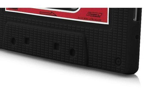 Силиконовый чехол кассета 90-х для Samsung Galaxy S 3 i9300 Черный