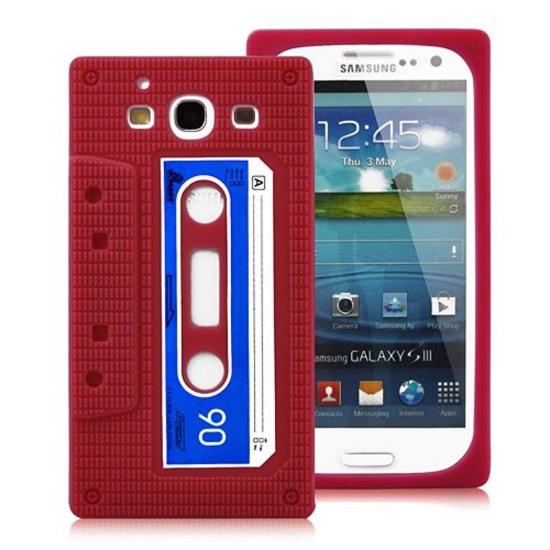 Чехол кассета для Samsung Galaxy S 3 i9300 Красный
