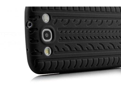 Силиконовая накладка для Samsung Galaxy S3 i9300 Черная