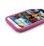 Накладка силиконовая для Samsung Galaxy Note 2 N7100 Розовая