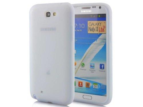 Силиконовый чехол для Samsung Galaxy Note 2 N7100 Белый