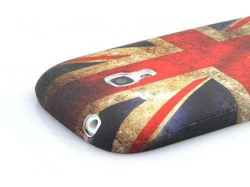 Защитная накладка флаг Англии для Samsung Galaxy S 3 Mini i8190