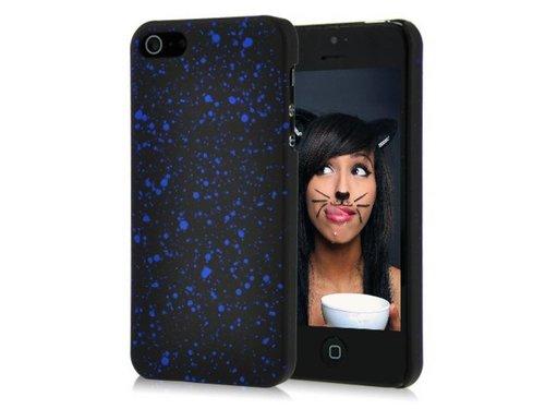 Задняя крышка Космос для iPhone 5 s Синие галактики