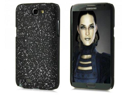 Задняя крышка чехол Космос для Galaxy Note 2 N7100 Белый