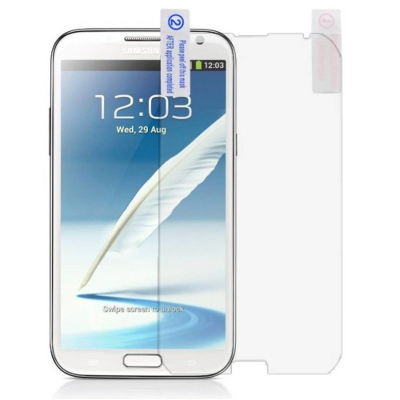 Защитная пленка на экран Galaxy Note 2
