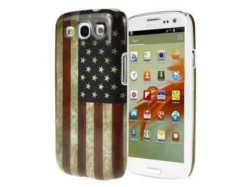 Защитная крышка флаг Америки для Samsung Galaxy S 3 i9300