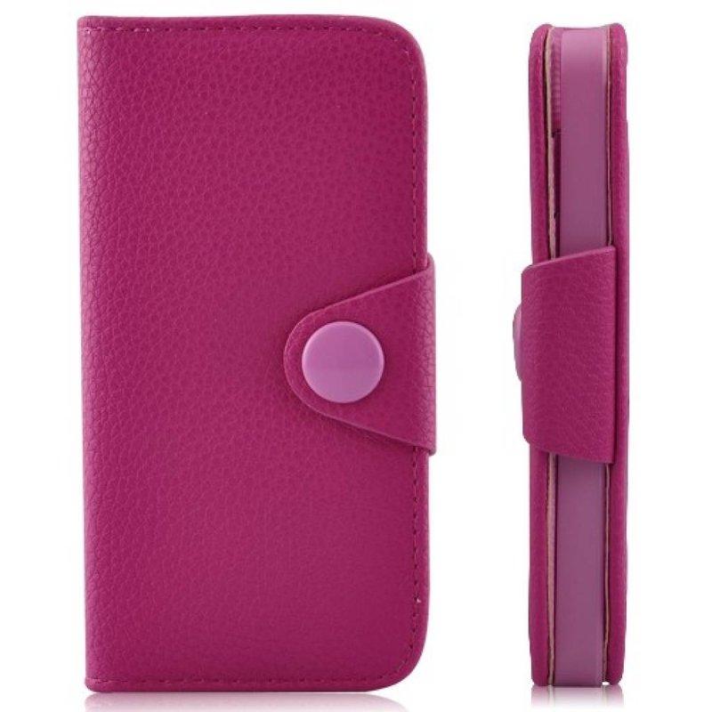 Кошелек с застежкой для iPhone 5/5s Розовый