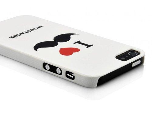 Оригинальная защитная крышка Усы для iPhone 5/5s