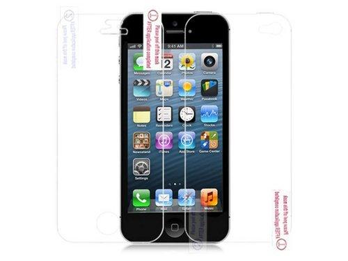 Защитная пленка на экран и заднюю часть iPhone 5/5s