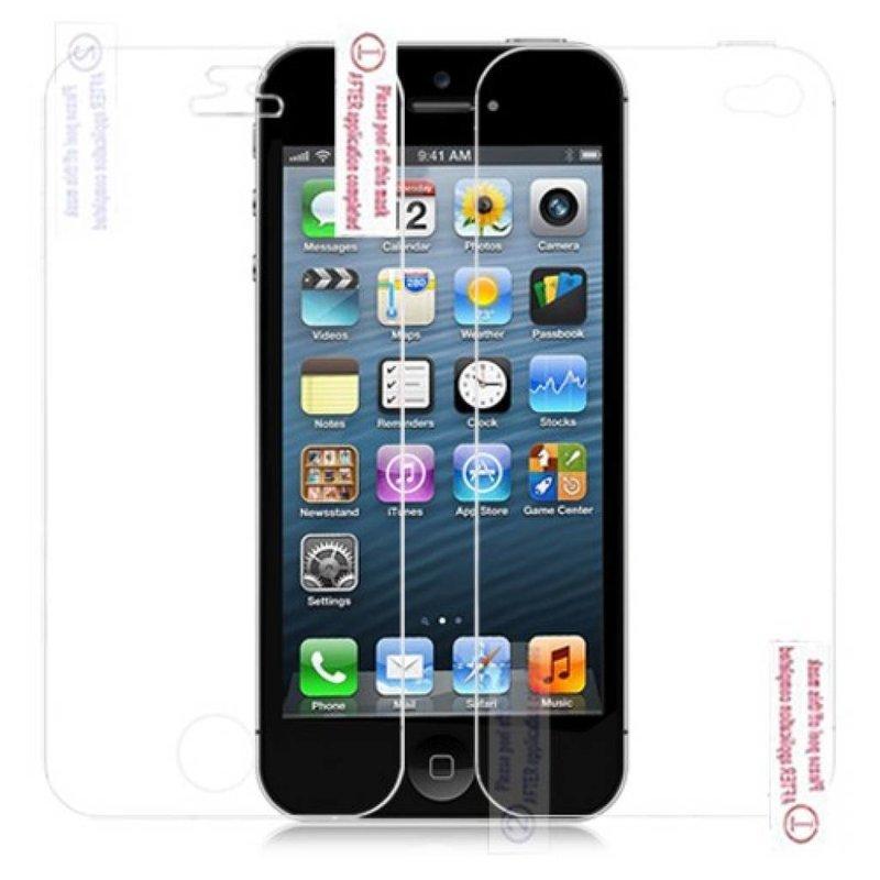 Пленка на экран и заднюю часть iPhone 5/5s