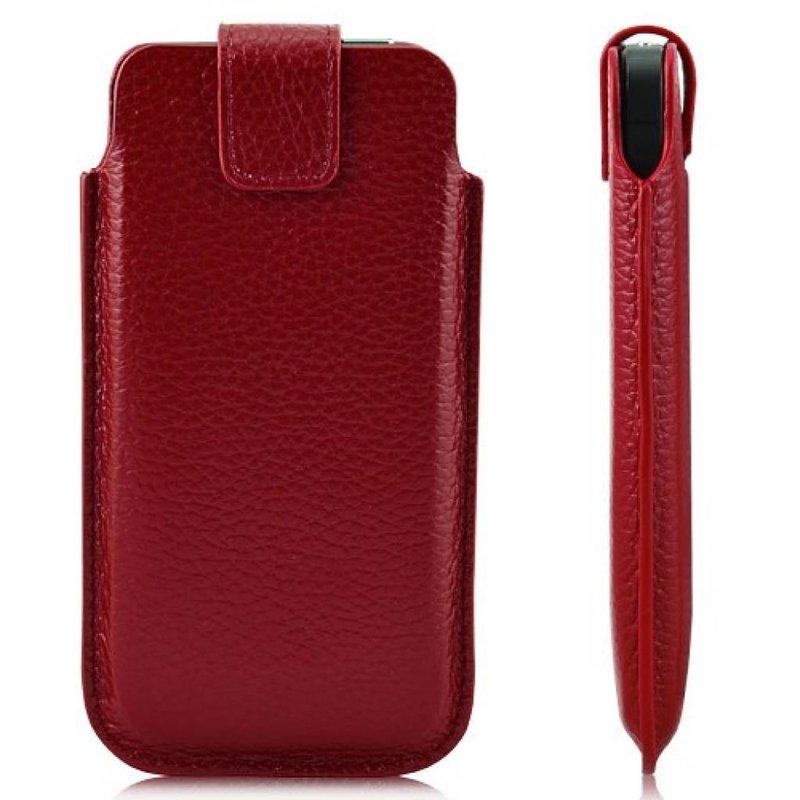 Кожаный чехол сумочка для iPhone 5/5s