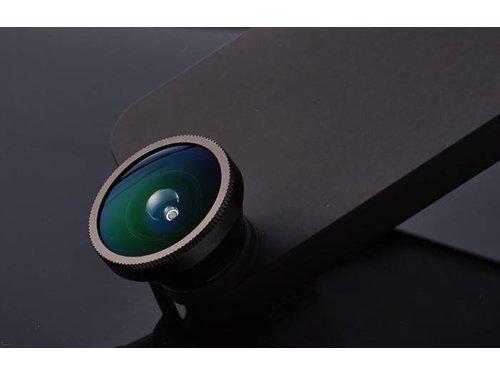 Линза Fisheye (Фишай) с матовым чехлом для iPhone 5/5s