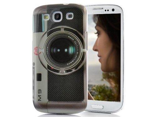 Защитная крышка в виде ретро камеры Leica M9 для Samsung Galaxy S 3 i9300