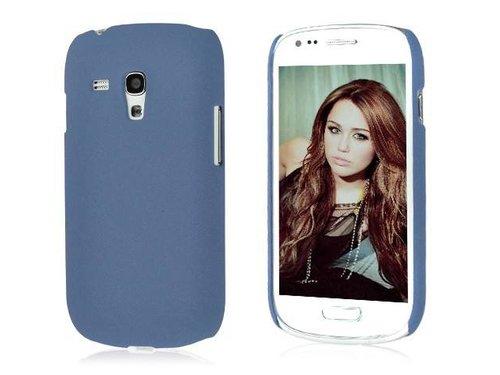 Задняя накладка крышка для Samsung Galaxy S3 Mini i8190 Синяя