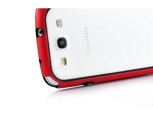Чехол бампер для Samsung Galaxy S3 i9300 Красный